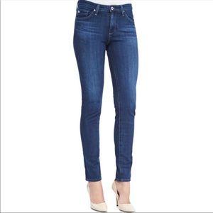 AG -Ed Denim The Prima mid-rise cigarette Jeans 26